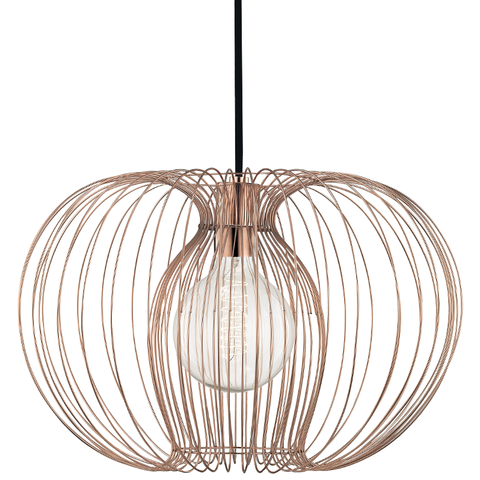 Jasmine 1 Light Large Pendant by Mitzi