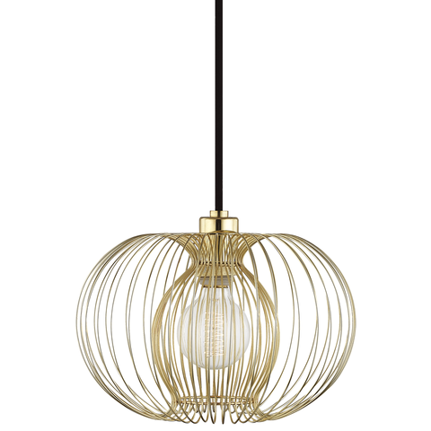 Jasmine 1 Light Small Pendant by Mitzi