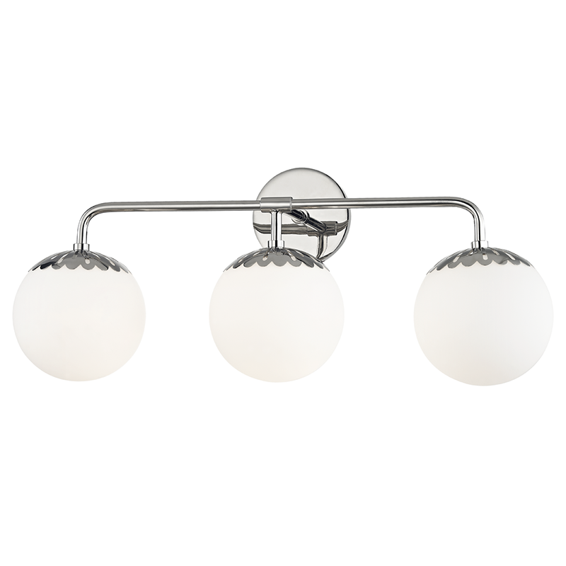 Paige 3 Light Bath Bracket by Mitzi