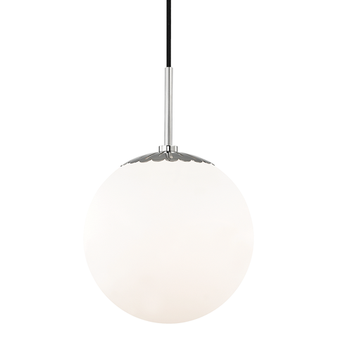 Paige 1 Light Large Pendant by Mitzi