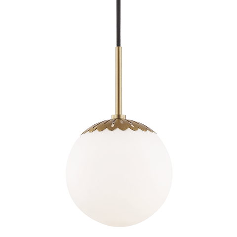 Paige 1 Light Small Pendant by Mitzi