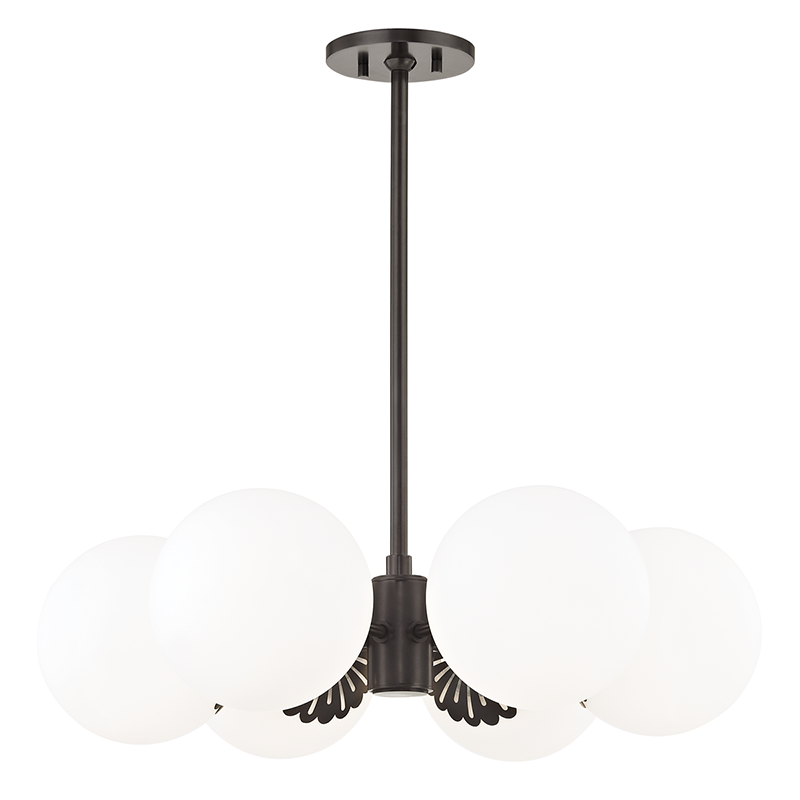 Paige 6 Light Chandelier by Mitzi