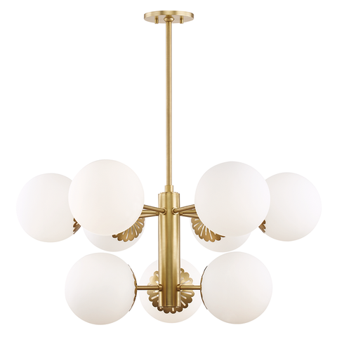 Paige 9 Light Chandelier by Mitzi