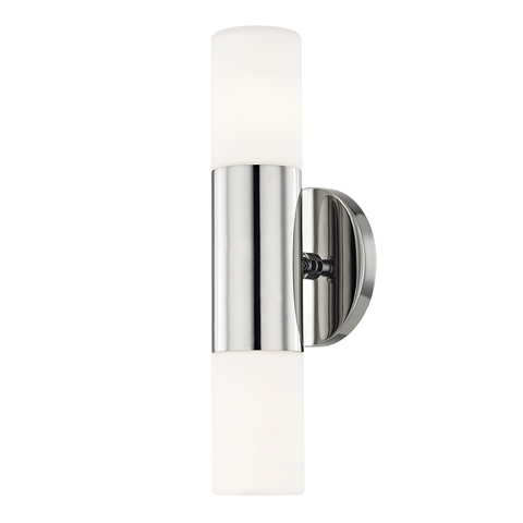 Lola 2 Light Wall Sconce by Mitzi