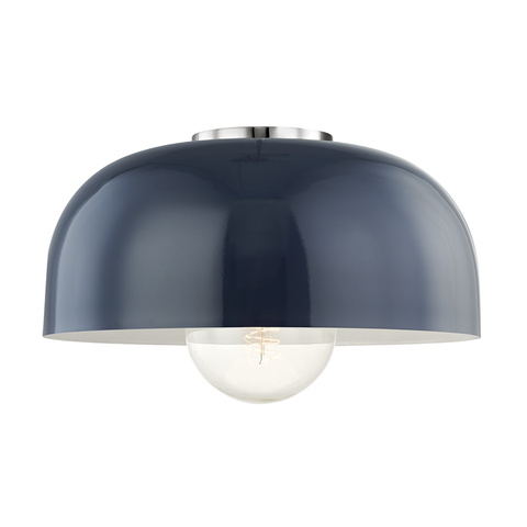 Avery 1 Light Large Semi Flush by Mitzi