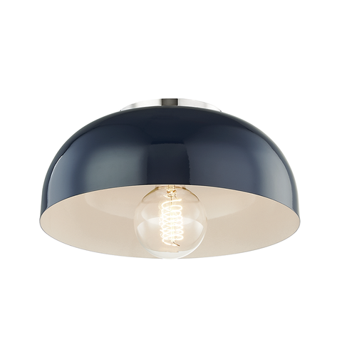 Avery 1 Light Small Semi Flush by Mitzi