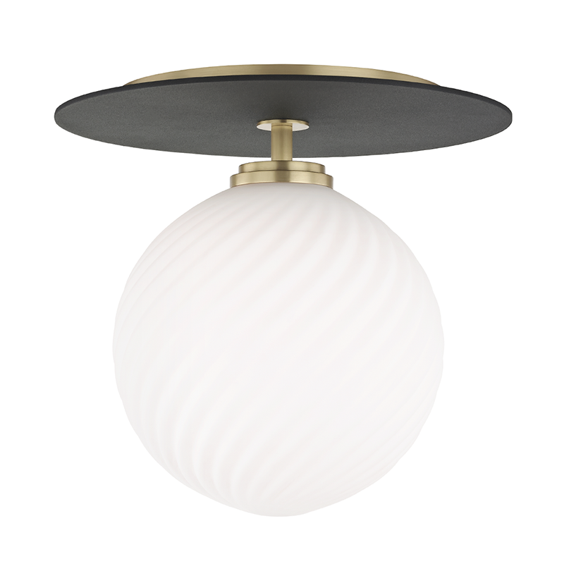 Ellis 1 Light Large Flush Mount by Mitzi