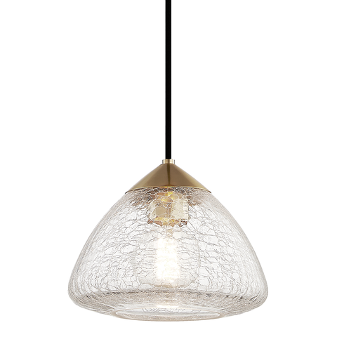 Maya 1 Light Small Pendant by Mitzi