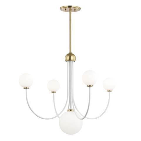 Coco 5 Light Chandelier by Mitzi