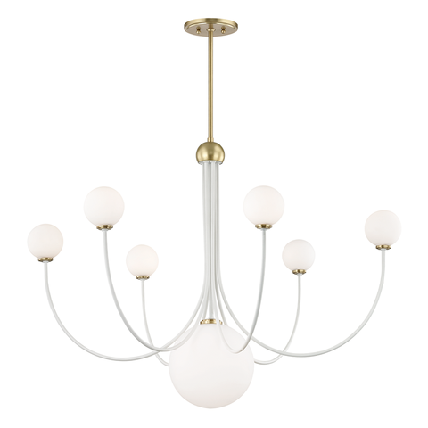 Coco 7 Light Chandelier by Mitzi