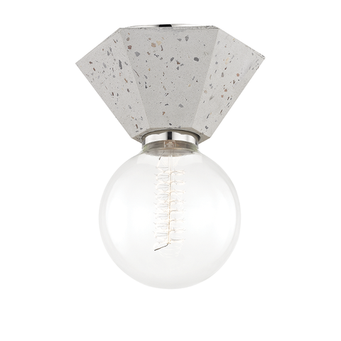 Lynn 1 Light Flush Mount by Mitzi