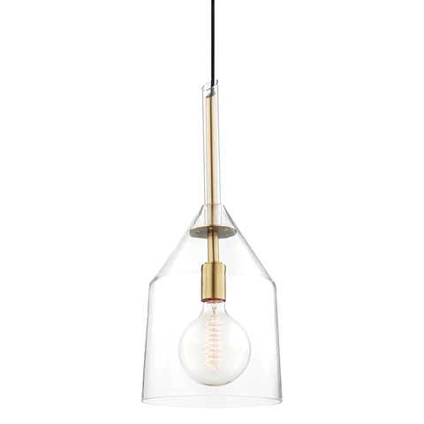 Sloan 1 Light Large Pendant by Mitzi