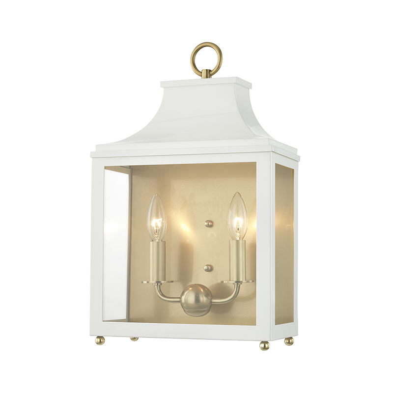 Leigh 2 Light Wall Sconce by Mitzi