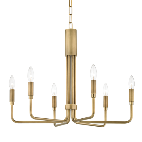 Brigitte 6 Light Small Pendant by Mitzi