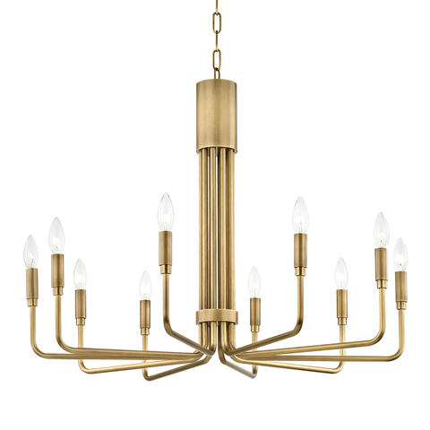 Brigitte 10 Light Large Pendant by Mitzi