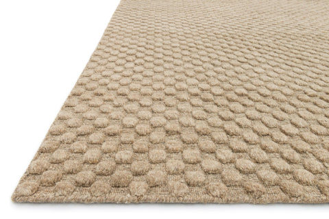 Hadley Rug in Dune design by Loloi