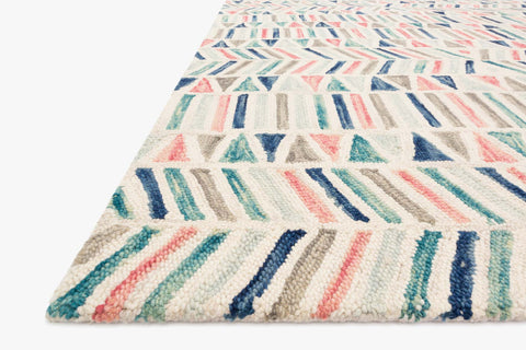 Hallu Rug in Ivory by Loloi