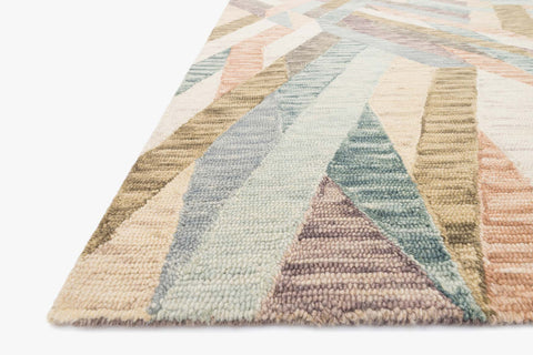 Hallu Rug in Sunrise & Mist by Loloi