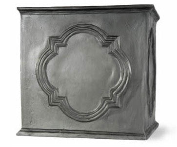 Hampton Planter in Faux Lead Finish design by Capital Garden Products