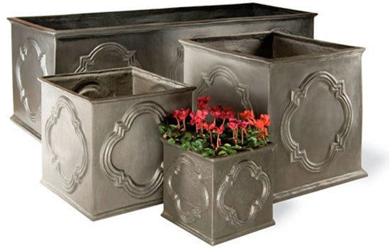 Hampton Tank in Faux Lead Finish design by Capital Garden Products