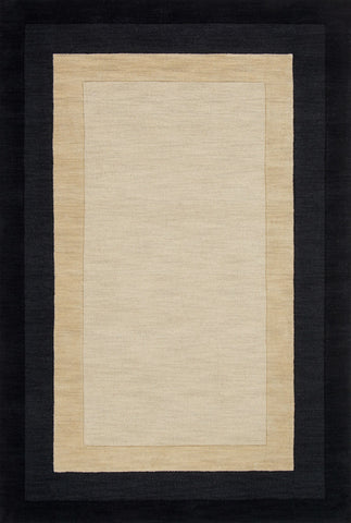 Hamilton Rug in Ivory & Charcoal design by Loloi