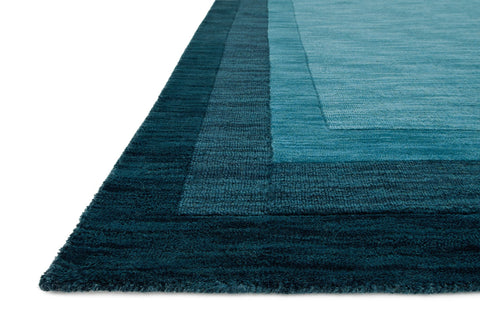 Hamilton Rug in Teal design by Loloi
