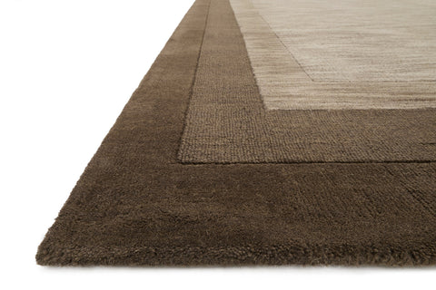 Hamilton Rug in Tobacco design by Loloi