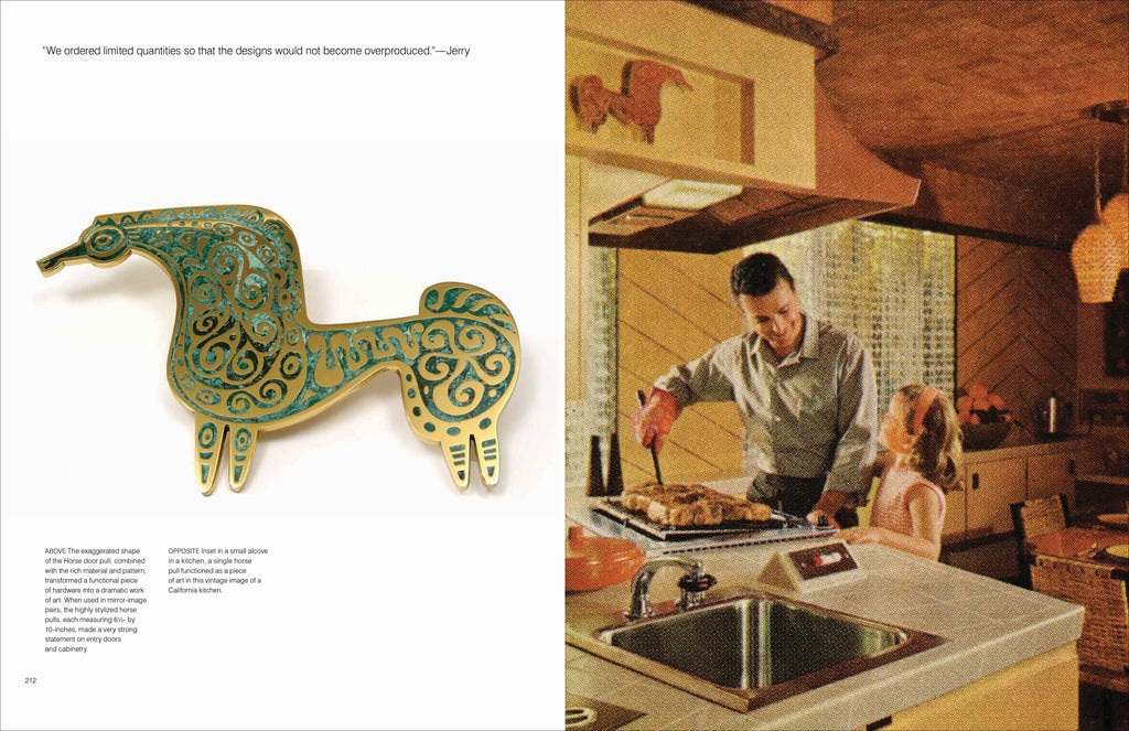 Hand-in-Hand: Ceramics, Mosaics, Tapestries, and Woodcarvings by the California Mid-Century Designers Evelyn and Jerome Ackerman by Pointed Leaf Press