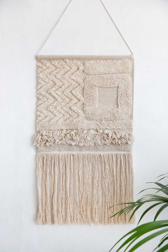 Earth Wall Hanging in Natural