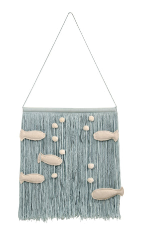 Wall Hanging Ocean design by Lorena Canals