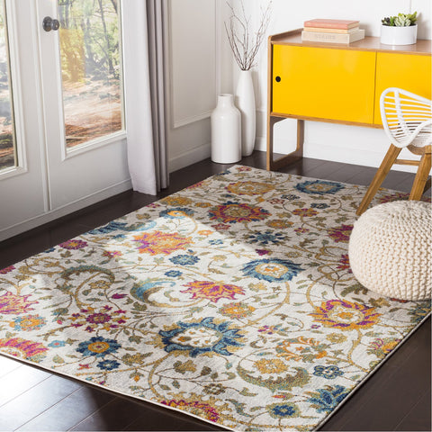 Harput HAP-1074 Rug in Saffron & Teal by Surya