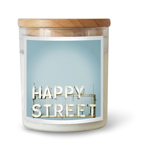 Happy Street Candle