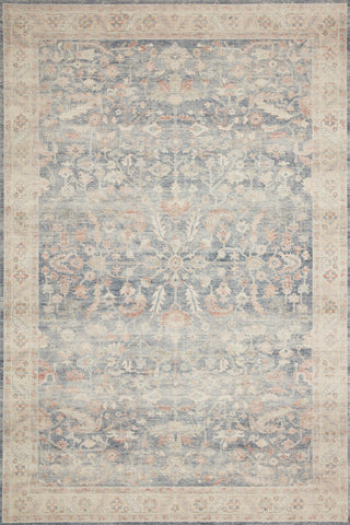 Hathaway Rug in Denim / Multi by Loloi II