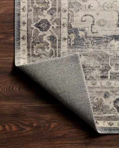 Hathaway Rug in Steel / Ivory by Loloi II