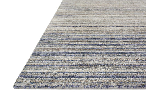 Haven Rug in Silver & Blue design by Loloi