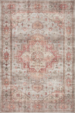 Heidi Rug in Dove / Spice by Loloi II