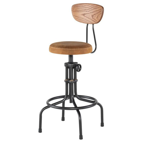 Buck Adjustable Stool by Nuevo