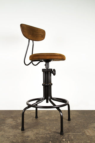 Buck Adjustable Stool design by District Eight