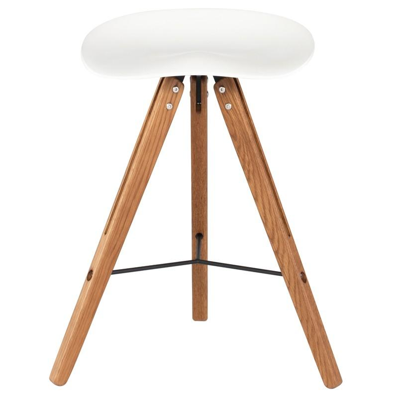 Theo Tractor Stool Counter Stool by Nuevo