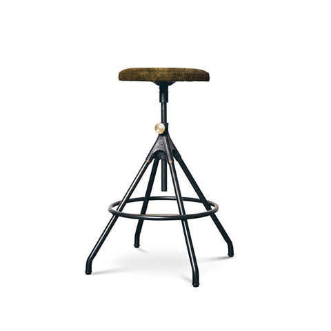 Akron Counter Stool in Jin Green design by Nuevo