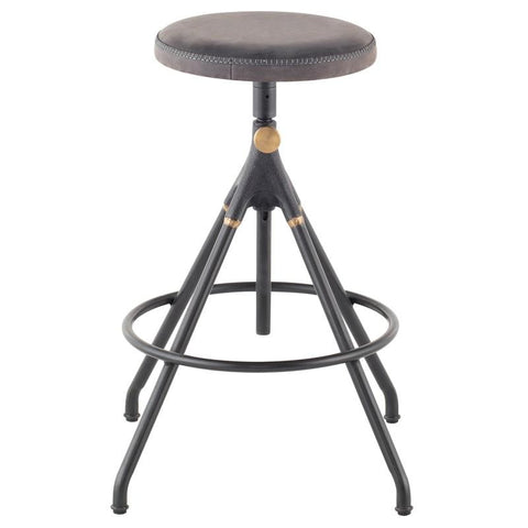 "22"" x 22"" x 26-30.8"" Akron Counter Stool by Nuevo"