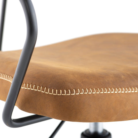 Akron Office Chair in Umber Tan design by Nuevo