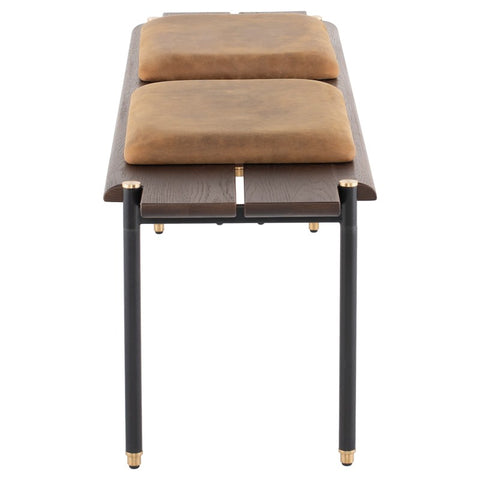 Stacking Bench Cushion in Umber Tan design by Nuevo
