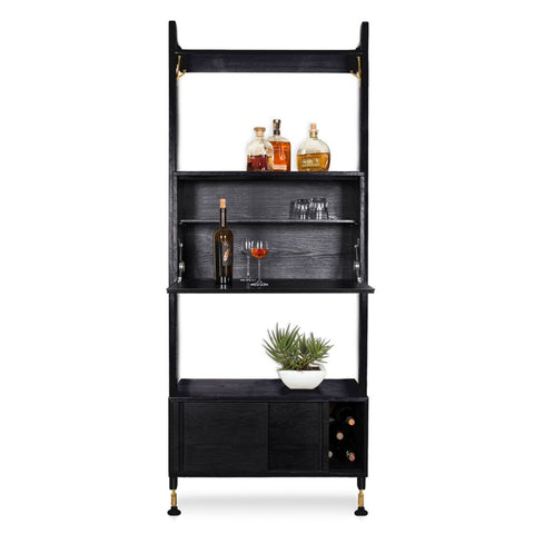 Theo Wall Unit w/ Bar in Various Finishes design by Nuevo