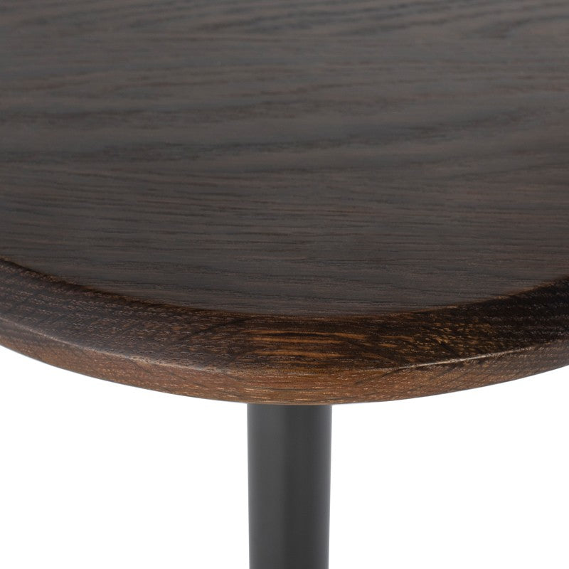 Exeter Side Table in Seared Oak design by District Eight