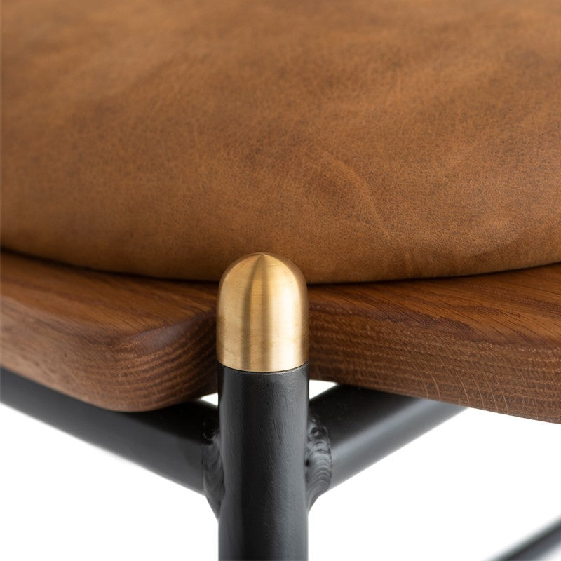 Kink Dining Chair in Umber Tan design by District Eight