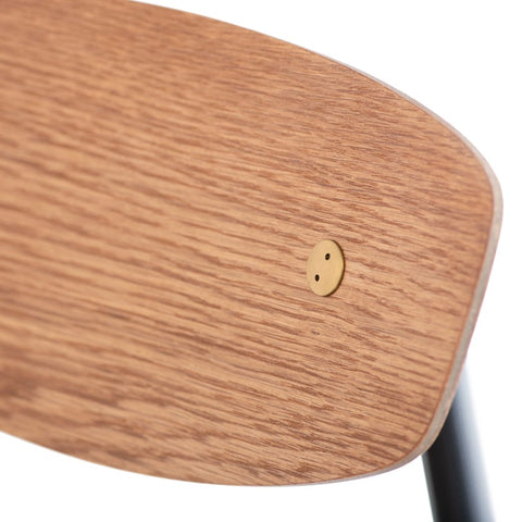 Kink Counter Stool in Umber Tan design by Nuevo