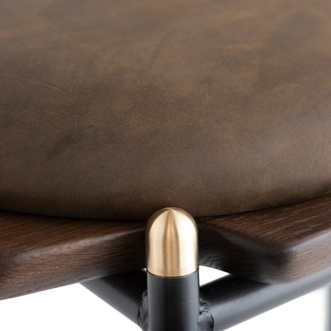 Kink Counter Stool in Jin Green design by Nuevo