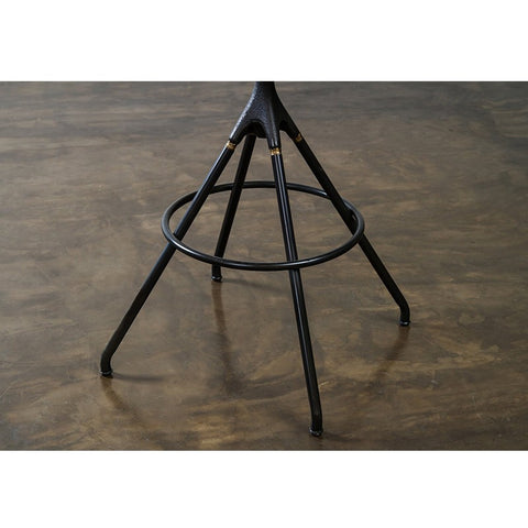 Akron Bar Stool in Jin Green design by Nuevo