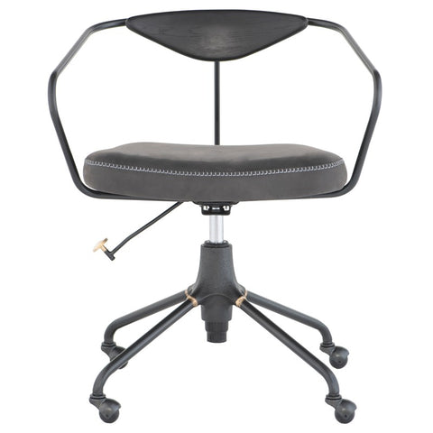 Akron Office Chair in Storm Black design by District Eight